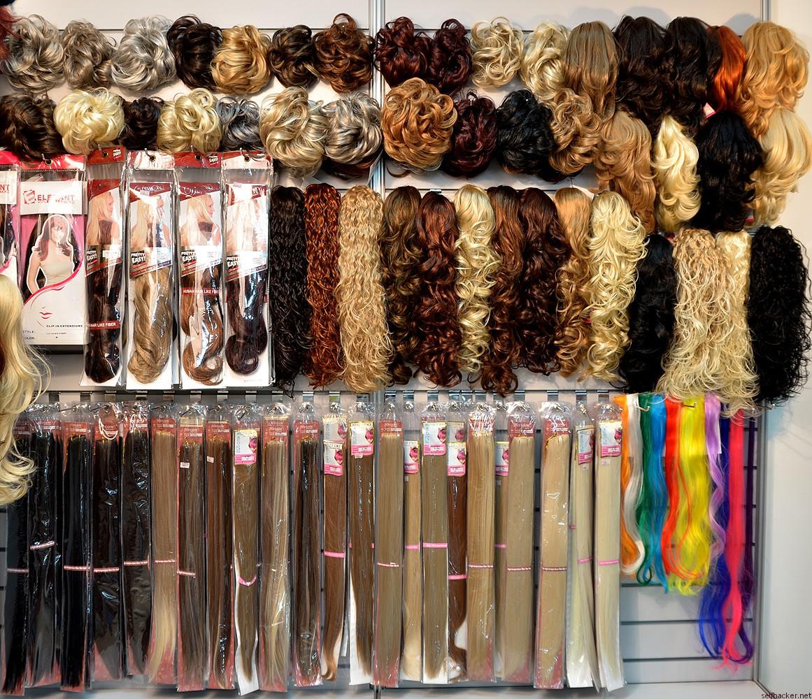 Искусственные волосы как называются